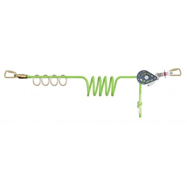 Οριζόντια Γραμμή ζωής KRATOS SAFETY 4 USER HORIZONTAL TEMPORARY LIFELINE