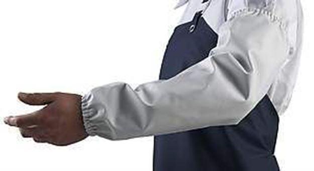 MANULATEX Επιμανίκια Εργασίας BRAVO SLEEVES WHITE