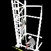 Σετ Ανακοπής  πτώσης και διάσωσης KRATOS SAFETY FA 2011330