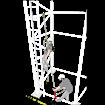 Σετ Ανακοπής  πτώσης και διάσωσης KRATOS SAFETY FA 2011350