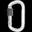 Σύνδεσμος  - Καραμπίνερ KRATOS SAFETY ALUMINIUM SCREW LOCKING KARABINER FA5010715B