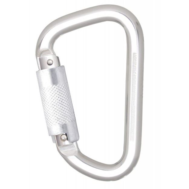 Σύνδεσμος  - Καραμπίνερ KRATOS SAFETY ALUMINIUM QUARTER TURN LOCKING KARABINER FA5020122