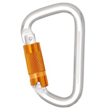 Σύνδεσμος  - Καραμπίνερ KRATOS SAFETY ALUMINIUM TRIPLE ACTION LOCKING KARABINER FA5030222