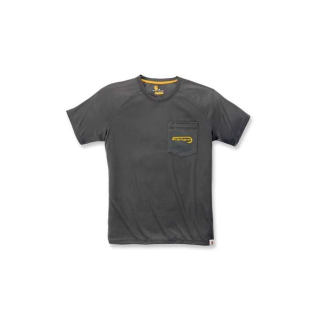 ΜΠΛΟΥΖΑΚΙ CARHARTT T-SHIRT FORCE FISHING GRAPHIC SHORT SLEEVE T-SHIRT FEDERAL SHADOW