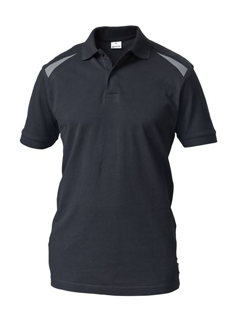 POLO Μπλουζάκι  ΕΡΓΑΣΙΑΣ SIGGI TASK 2 POLO SHIRT SS BLACK