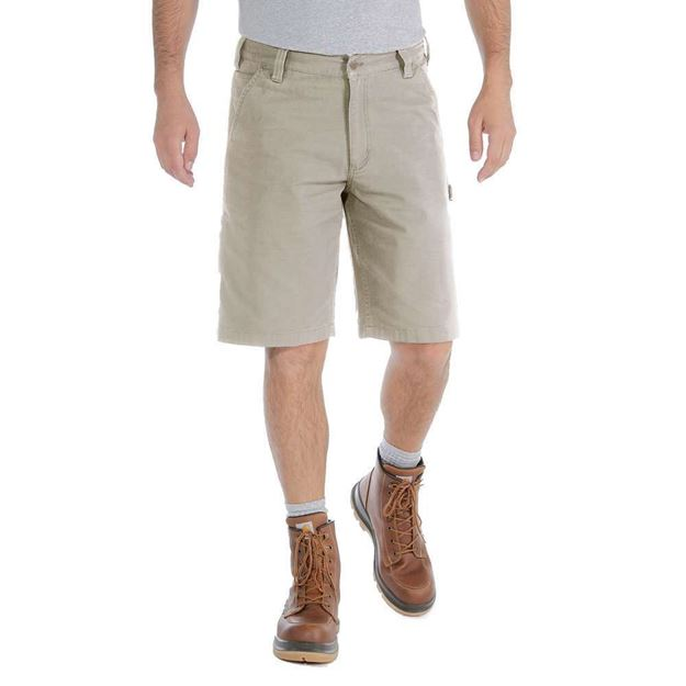 Βερμούδα 103652 RIGBY DUNGAREE SHORT TAN CARHARTT