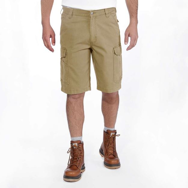 Βερμούδα 103542 RIGBY RUGGED CARGO SHORT DARK KHAKI CARHARTT