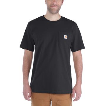ΜΠΛΟΥΖΑΚΙ CARHARTT WORKWEAR POCKET SHORT SLEEVE T-SHIRT BLACK