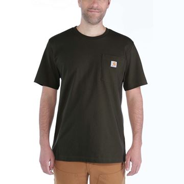 ΜΠΛΟΥΖΑΚΙ CARHARTT WORKWEAR POCKET SHORT SLEEVE T-SHIRT PEAT