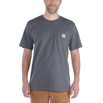 ΜΠΛΟΥΖΑΚΙ CARHARTT WORKWEAR POCKET SHORT SLEEVE T-SHIRT CHARCOAL