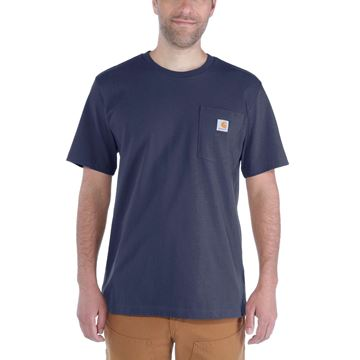 ΜΠΛΟΥΖΑΚΙ CARHARTT WORKWEAR POCKET SHORT SLEEVE T-SHIRT NAVY