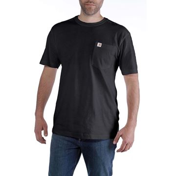 ΜΠΛΟΥΖΑΚΙ CARHARTT MADDOCK POCKET SHORT SLEEVE T-SHIRT BLACK