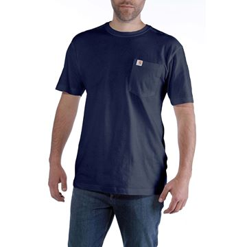 ΜΠΛΟΥΖΑΚΙ CARHARTT MADDOCK POCKET SHORT SLEEVE T-SHIRT NAVY