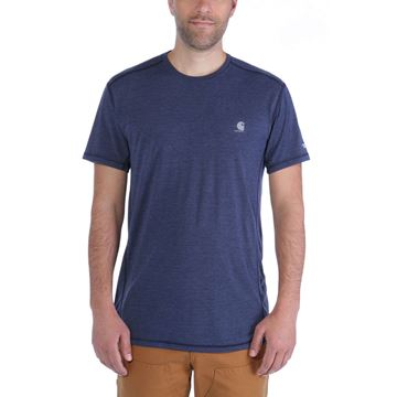 ΜΠΛΟΥΖΑΚΙ CARHARTT FORCE EXTREMES SHORT SLEEVE T-SHIRT NAVY HEATHER