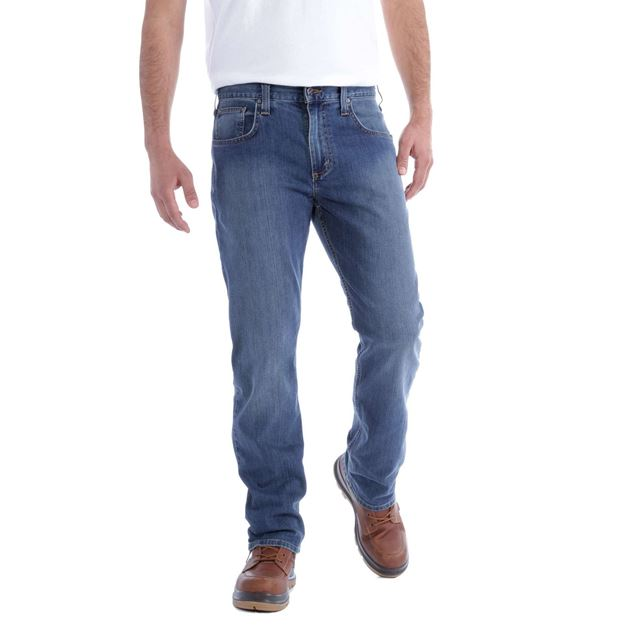 ΤΖΗΝ ΠΑΝΤΕΛΟΝΙ CARHARTT RUGGED FLEX STRAIGHT JEANS COLDWATER
