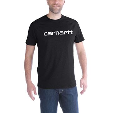 T-SHIRT FORCE COTTON DELMONT GRAPHIC BLK - CARHARTT
