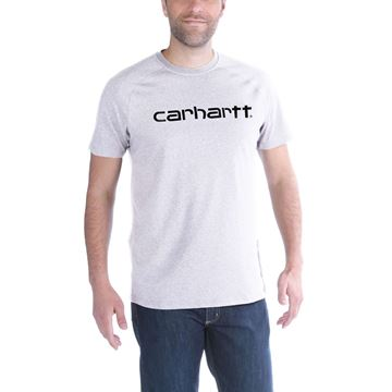 T-SHIRT FORCE COTTON DELMONT GRAPHIC WHITE  - CARHARTT