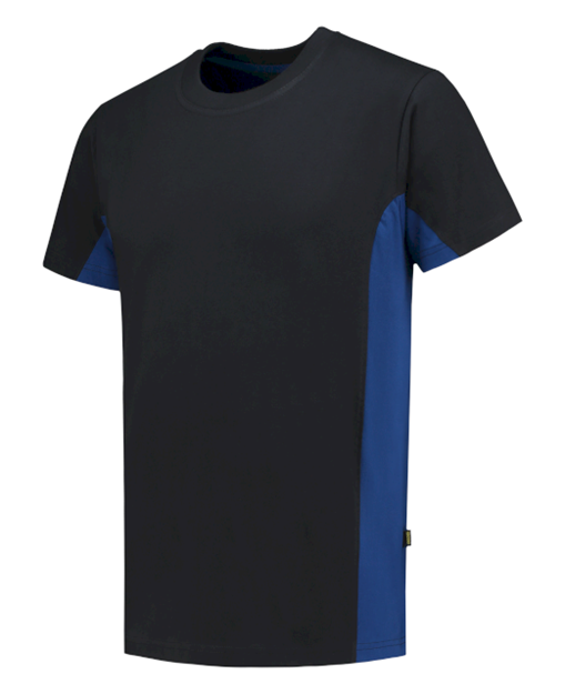ΒΑΜΒΑΚΕΡΟ ΜΠΛΟΥΖΑΚΙ  TRICORP WORKWEAR BI-COLOUR TSHIRT NAVY -ROYAL BLUE