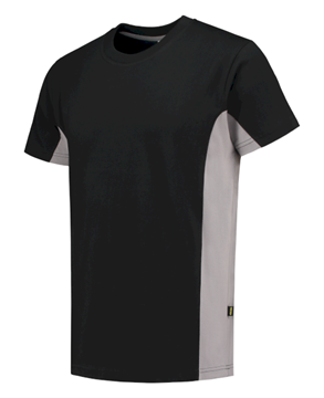 ΒΑΜΒΑΚΕΡΟ ΜΠΛΟΥΖΑΚΙ  TRICORP WORKWEAR BI-COLOUR TSHIRT BLACK / GREY