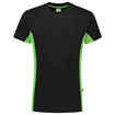ΒΑΜΒΑΚΕΡΟ ΜΠΛΟΥΖΑΚΙ  TRICORP WORKWEAR BI-COLOUR TSHIRT BLACK / LIME
