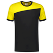 ΔΙΧΡΩΜΟ ΜΠΛΟΥΖΑΚΙ  TRICORP WORKWEAR BI-COLOUR T-SHIRT BLACK / YELLOW