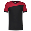 ΔΙΧΡΩΜΟ ΜΠΛΟΥΖΑΚΙ  TRICORP WORKWEAR BI-COLOUR T-SHIRT BLACK / RED