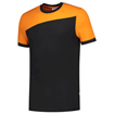 ΔΙΧΡΩΜΟ ΜΠΛΟΥΖΑΚΙ  TRICORP WORKWEAR BI-COLOUR T-SHIRT BLACK / ORANGE