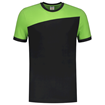ΔΙΧΡΩΜΟ ΜΠΛΟΥΖΑΚΙ  TRICORP WORKWEAR BI-COLOUR T-SHIRT BLACK / LIME