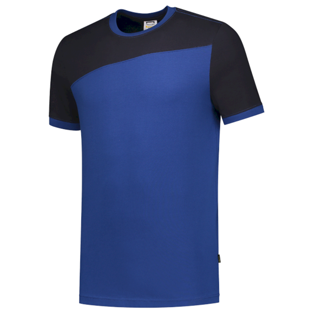 ΔΙΧΡΩΜΟ ΜΠΛΟΥΖΑΚΙ  TRICORP WORKWEAR BI-COLOUR T-SHIRT ROYAL BLUE / NAVY