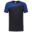 ΔΙΧΡΩΜΟ ΜΠΛΟΥΖΑΚΙ  TRICORP WORKWEAR BI-COLOUR T-SHIRT NAVY / ROYAL BLUE