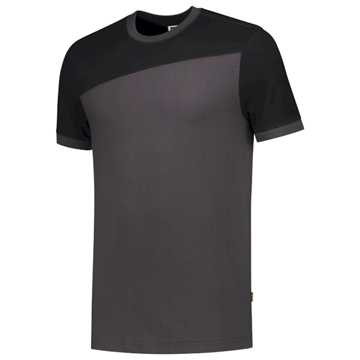 ΔΙΧΡΩΜΟ ΜΠΛΟΥΖΑΚΙ  TRICORP WORKWEAR BI-COLOUR T-SHIRT DARK GREY / BLACK
