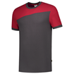 ΔΙΧΡΩΜΟ ΜΠΛΟΥΖΑΚΙ  TRICORP WORKWEAR BI-COLOUR T-SHIRT DARK GREY / RED