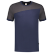 ΔΙΧΡΩΜΟ ΜΠΛΟΥΖΑΚΙ  TRICORP WORKWEAR BI-COLOUR T-SHIRT INK / DARK GREY