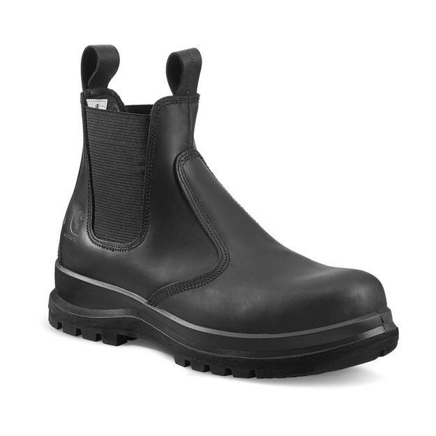 CARHARTT CHELSEA BOOT μποτάκια ασφαλείας S3 μαύρο