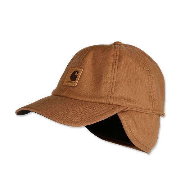ΚΑΠΕΛΟ CARHARTT EAR FLAP CAP Καφέ