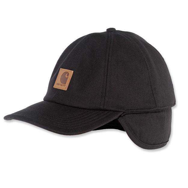 ΚΑΠΕΛΟ CARHARTT EAR FLAP CAP Μαύρο