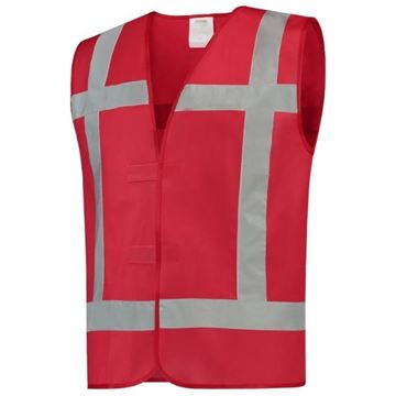ΓΙΛΕΚΟ TRICORP SAFETY REFLECTIVE VEST RED