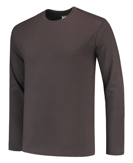 ΒΑΜΒΑΚΕΡΟ ΜΠΛΟΥΖΑΚΙ  TRICORP CASUAL TL190 LONG SLEEVE T-SHIRT 101006 DARK GREY