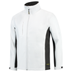 SOFTSHELL TRICORP WORKWEAR BI-COLOUR 402002 WHITE - DARK GREY