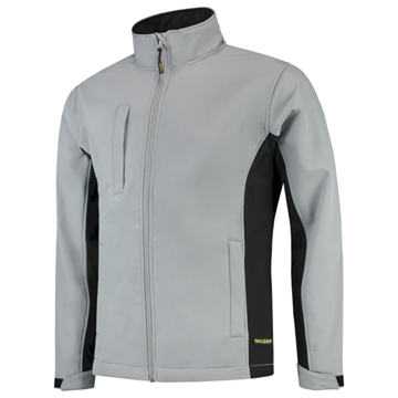 SOFTSHELL TRICORP WORKWEAR BI-COLOUR 402002 GREY-BLACK