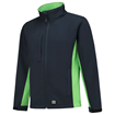 SOFTSHELL TRICORP WORKWEAR BI-COLOUR 402002 NAVY - LIME