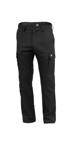 ΠΑΝΤΕΛΟΝΙ ΕΡΓΑΣΙΑΣ SIGGI AMSTERDAM LIGHT TROUSERS BLACK