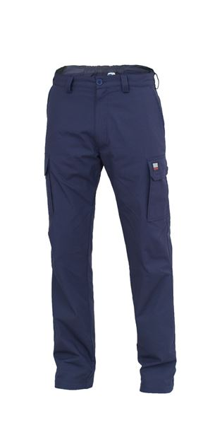 ΠΑΝΤΕΛΟΝΙ ΕΡΓΑΣΙΑΣ SIGGI AMSTERDAM WARM RIPSTOP TROUSERS BLUE