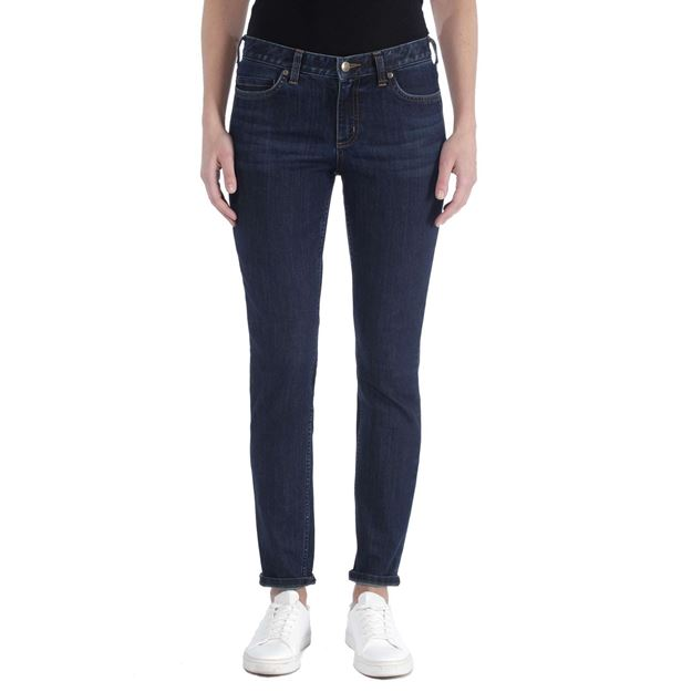 ΓΥΝΑΙΚΕΙΟ ΤΖΗΝ ΠΑΝΤΕΛΟΝΙ CARHARTT SLIM FIT LAYTON SKINNY LEG DENIM 102734 MIDNIGHT SKY