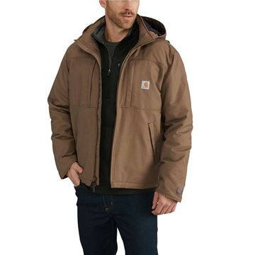ΜΠΟΥΦΑΝ QUICK DUCK FULL SWING CRYDER JACKET 102207 CANYON BROWN - CARHARTT
