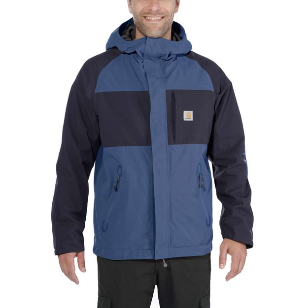ΜΠΟΥΦΑΝ CARHARTT ANGLER JACKET 102990 DARK BLUE NAVY