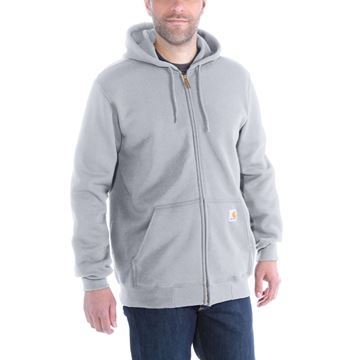 ΖΑΚΕΤΑ MIDWEIGHT HOODED ZIP FRONT SWEATER K122 HGY - CARHARTT