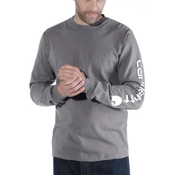 LOGO LONG SLEEVE T-SHIRT EK231 CHR- CARHARTT