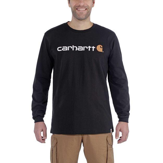 T-SHIRT EMEA WORKWEAR CORE LOGO 104107 BLACK - CARHARTT
