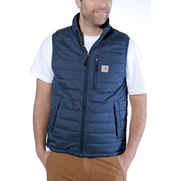ΓΙΛΕΚΟ ΕΡΓΑΣΙΑΣ GILLIAM VEST 102286 DARK BLUE  - CARHARTT